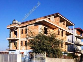 Villa for sale in Asti Gogoli Street in Durres. It is a 4-storey villa positioned near the ma