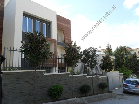 Three storey villa for rent in Ali Visha Street in Tirana.