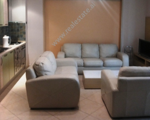 Modern apartment for rent in Ferit Xhajko Street in Tirana.