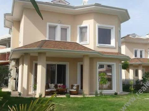 Villa for rent in a closed residence very close to Tirana Esat Gate shopping center (TEG) in Lunder