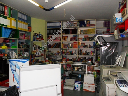 Store for sale in Abdi Kazani Street in Tirana. It is located on the ground floor in a new building