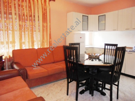 Two bedroom apartment for rent in Abdyl Frasheri street in Tirana. Positioned on the 5th floor of a