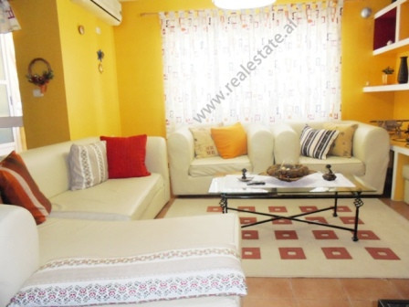 Three bedroom apartment for rent at Kika Compound in Tirana. Positioned on the 10th floor of a new b