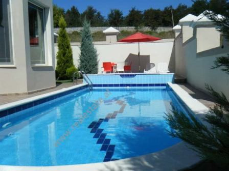 Three storey villa for rent in Sauk area in Tirana, very close to Brigada Palace.