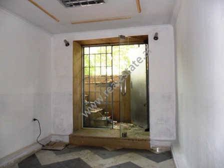 Store for sale near Sami Frasheri Street in Tirana. It is located on the side of the main street in