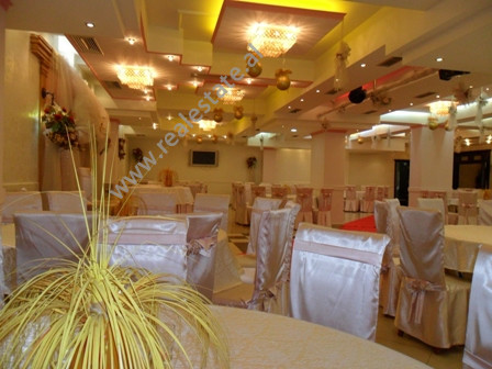 Restaurant for sale in Ali Baushi Street in Tirana.  It is situated on the basement in a new build