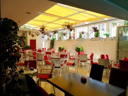 Coffee bar for sale in Ali Baushi Street in Tirana. It is situated on the 1-st floor in a new build