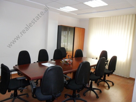 Modern office for rent in Mustafa Matohiti Street in Tirana.