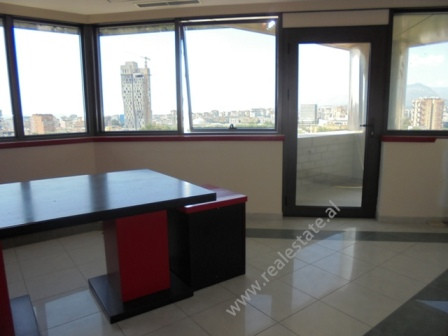 Office for rent in Tirana, in Deshmoret e Kombit Boulevard.