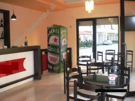 Store for sale near Gjergj Kastrioti Street in Vlora.  It is located on the ground and the basemen