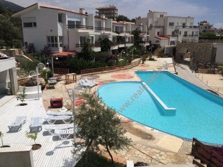 Two bedroom apartment for sale in Dhermi, part of The Olive Terrace Residence.