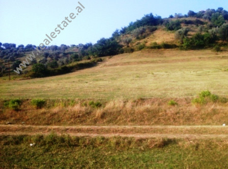 Land for sale near Zalata Street in Tirana.