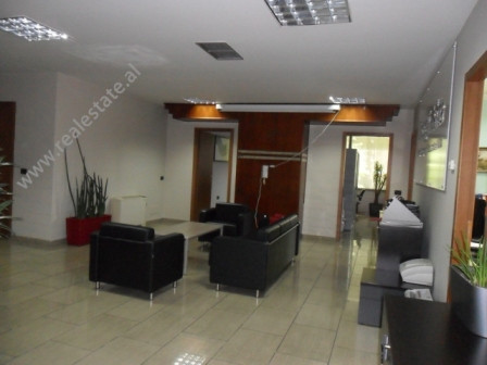 Office space for rent in Ibrahim Rugova Street in Tirana.