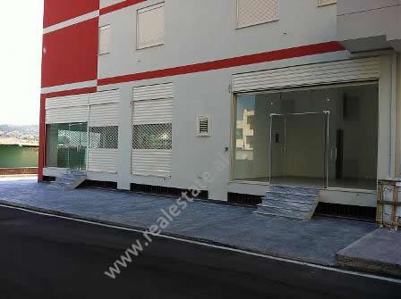 Store for sale near Bashkia Street in Tirana.