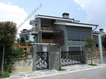Modern villa for rent in Lunder village in Tirana. This villa is part of a residential area, co