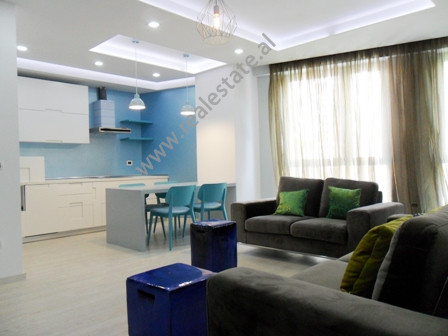 Modern apartment for rent near Dervish Hima Street in Tirana.
