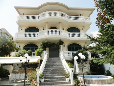 4 storey villa for rent in Ali Demi area in Tirana.