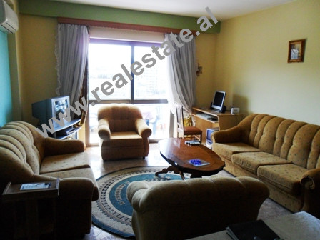 Apartment for sale in Marco Bocari Street in Tirana. It is situated on the 6-th floor in a new buil