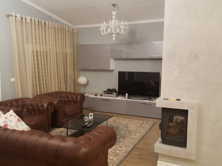 Two storey villa for rent in one of the best villas compound in Tirana, in Long Hill Residence.