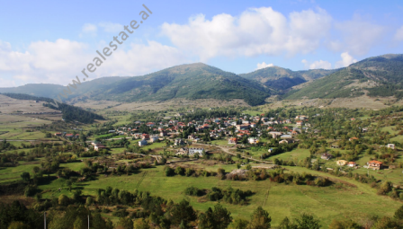 Land for sale in Voskopoje, in Korca. Situated on a hill close to the village and the main road. T