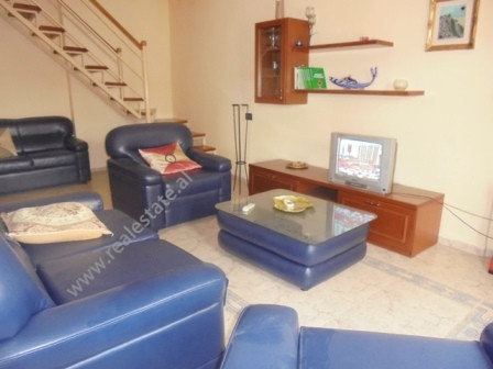 Two bedroom apartment for rent near Selman Stermasi stadium in Tirana.  With a surface of 110 m2 o