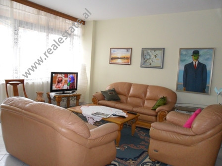 Apartment for rent in Ismail Qemali Street in Tirana. It is situated on the 5-th floor in a new bui