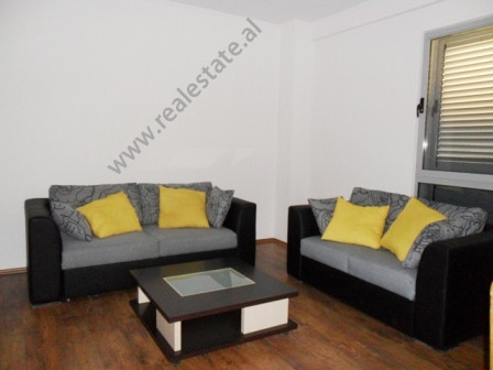 Two bedroom apartment for rent near Myslym Shyri Street.