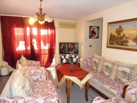 Two bedroom apartment for rent in Komuna e Parisit Street in Tirana.