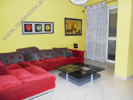 Modern apartment for rent near Kavaja Street in Tirana. It is situated on the 6-th floor in a new b