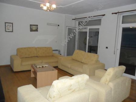 Apartment for rent at the beginning of Shyqyri Brari Street in Tirana. It is situated on the 6-th i