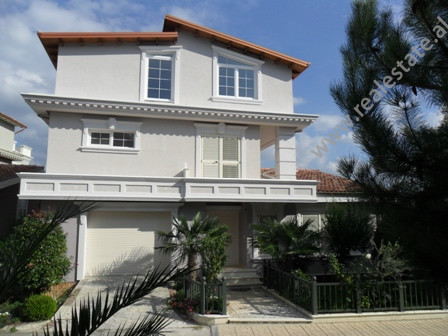Modern villa for rent in Xhaferr Shaba Street in Tirana.