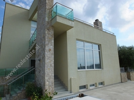 Luxury villa for sale close to the Arificial Lake of Tirana. Located over a small hill, surrounding