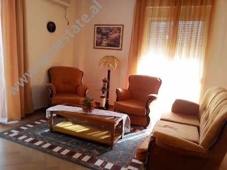 Apartment for rent in Mujo Ulqinaku Street in Tirana. It is situated on the 4-th floor in a new bui