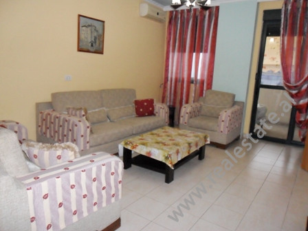 Apartment for sale in Vllazen Huta Street in Tirana. It is situated on the 4-th floor in a new buil