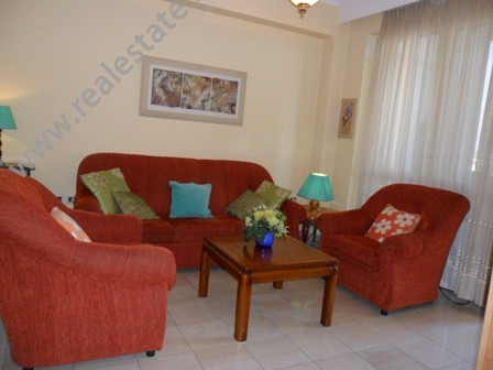 Apartment for rent in Brigada VIII Street in Tirana. The apartment is located in Blloku area, very p