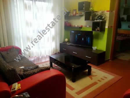 Apartment for rent in Abdyl Frasheri Street in Tirana. It is situated on the 2-nd floor in an old bu