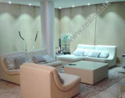 Apartment for sale in Frosina Plaku Street in Tirana.  It is situated on the 7-th floor in a new b
