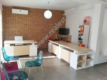 Modern apartment for office for rent in Fatmir Haxhiu Street in Tirana.