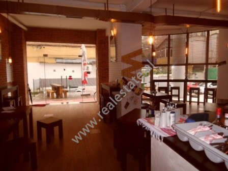 Fast food bar for sale in Myslym Street in Tirana The shop is located on the first floor of a new b