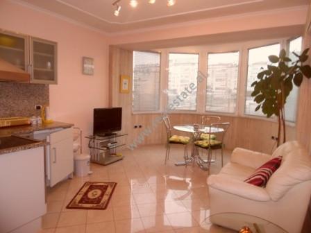 Apartament 1+1 me qera ne rrugen Milto Tutulani ne Tirane Apartamenti ndodhet ne katin e katert te