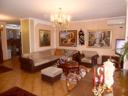 Three bedrooms apartment for rent in Sami Frasheri Street in Tirana The apartment is situated on th
