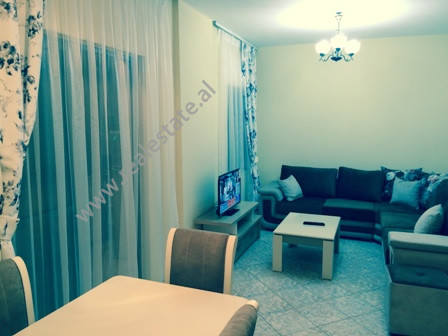 Modern apartment for rent in Muhedin Llagani Street in Tirana.