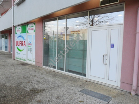 Shop for sale near Frosina Plaku Street in Tirana. It is located on the ground floor in a new compl