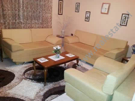 Apartment for rent in front of European University in Tirana.