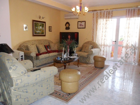 Apartment for sale behind the American Embassy in Tirana. It is situated on the 5-th floor in an ol