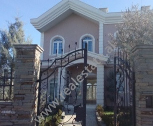 Two storey villa for rent in Dervish Shaba Street in Tirana