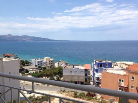 Two bedroom apartment for sale in Saranda, located in Butrinti Street. The apartment is situated on