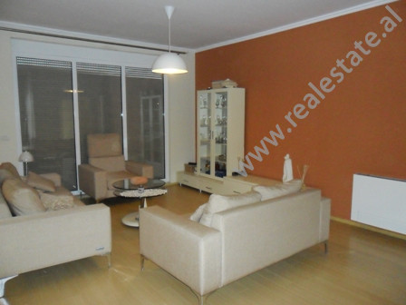 Modern apartment for rent in Shyqyri Brari Street in Tirana. It is situated on the 5-th floor in a