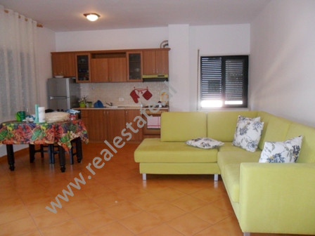 Apartment for rent in Bardhok Biba Street in Tirana.  It is situated on the 11-th floor in a new c