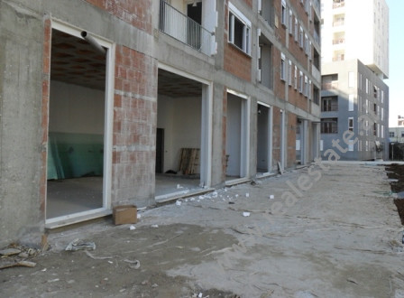 Store for sale in Artan Lenja Street in Tirana. It is situated on the ground floor in a new complex